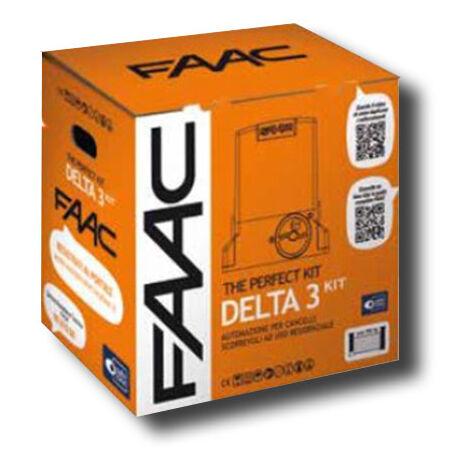 faac kit motorisation 230v delta3 kit perfect 105918fr