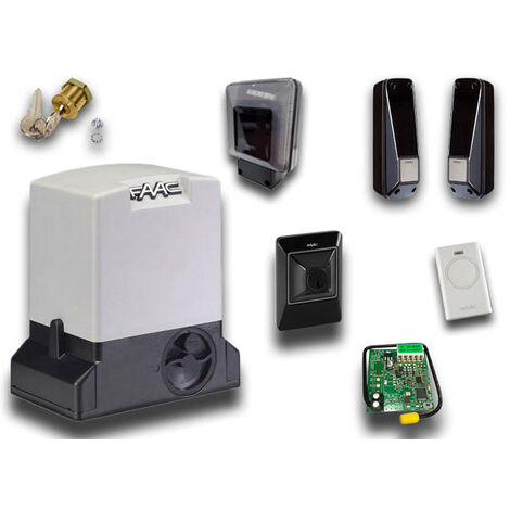faac kit motorisation 230v delta3 kit safe 105630445fr