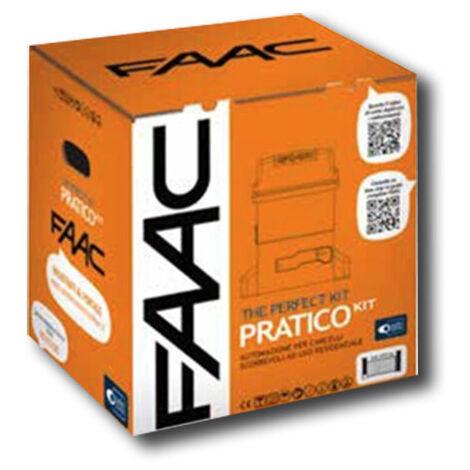 faac kit motorisation 230v pratico kit perfect 105912fr
