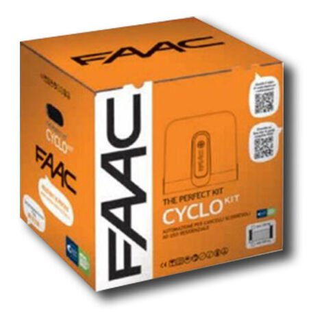 faac kit motorisation 24v 400 kg cyclo kit perfect 105916fr