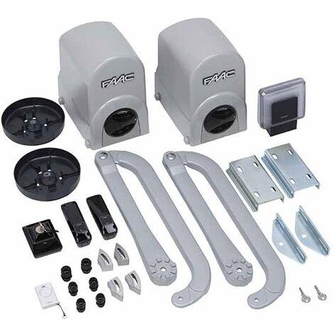faac kit motorisation 24v dc energy kit safe 104575