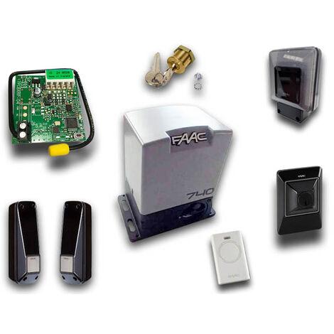 faac kit motorisation 740 230v delta2 kit safe 1056303445fr