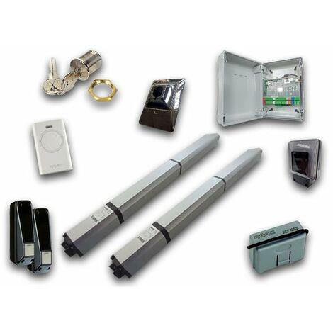 faac kit motorisation hydraulique 24v dc hybrid 450 kit safe 105683fr