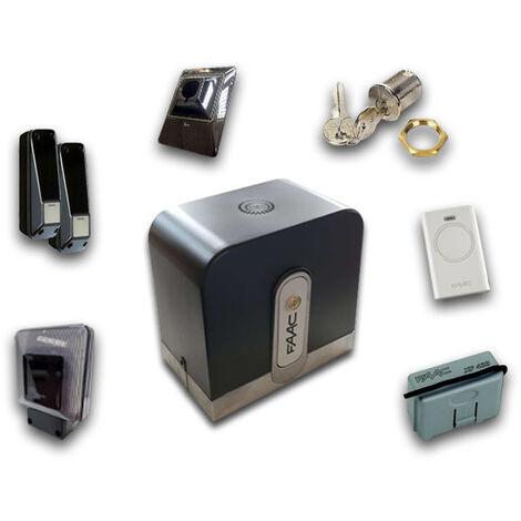 "main image of ""faac kit motorisation rapid (ex cyclo) 24v dc safe&green 1059995"""