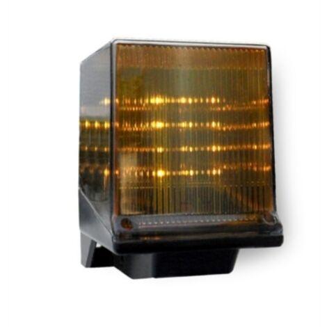 faac luz intermitente led 230v ac faacled 410023