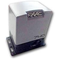 faac motorreductor con tarjeta electronica 740 e z16 230v safe 1097805