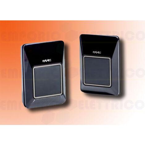 faac pair of external photocells bus xp30b 785106