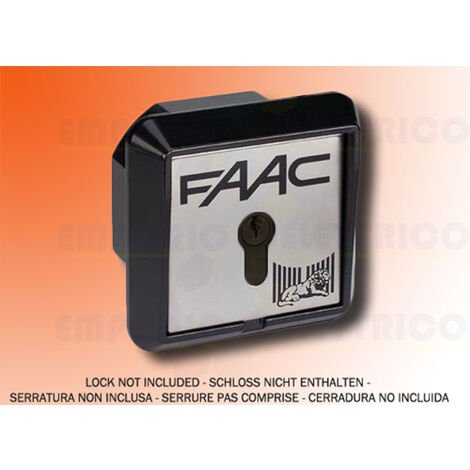 faac recessed key button 2 contacts t21 i 401015