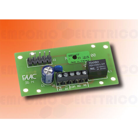 faac relay interface for rp receivers 787725