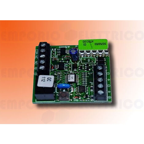 faac single-channel deconding board decoder slh 785534