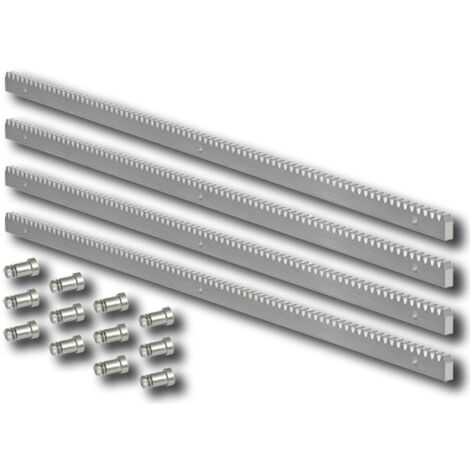 faac verzinkte Stahlzahnstange 30x8 Modul 4 - 4 Meter- 490123