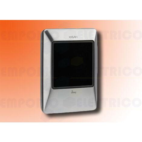 faac xtr b inox tag reader 786040