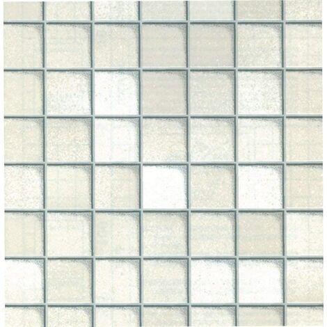 Fablon Tiles White 67.5cm x 2M roll