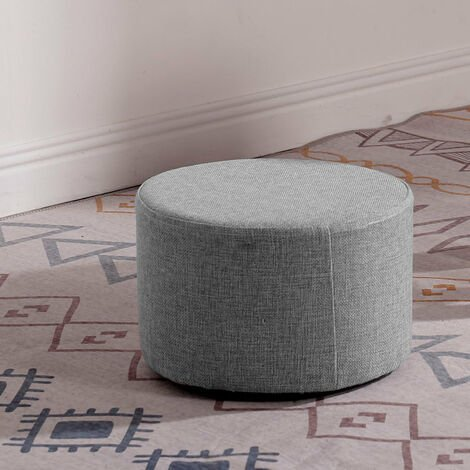 Fabric Ottoman Seat Footstool Footrest Pouffe Foot Rest Stool Chair Living Room