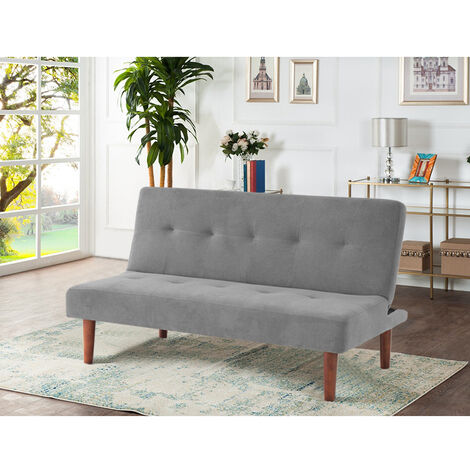 Fabric Simple 2 Seater Sofa Bed