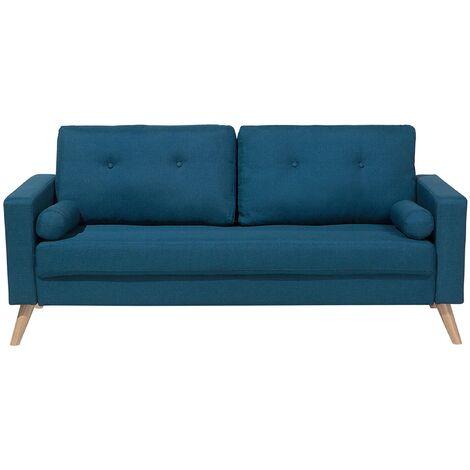 Fabric Sofa Blue KALMAR