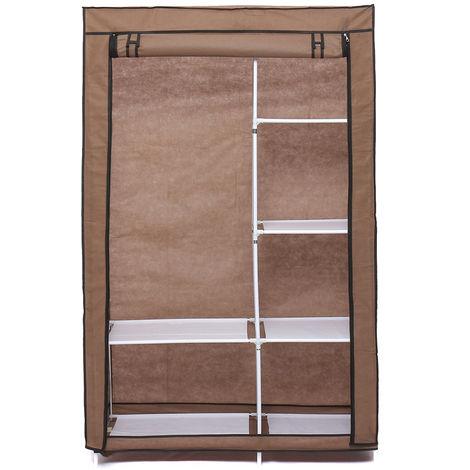 Fabric storage cabinet 170cm X 105cm X 45cm - Soft wardrobe