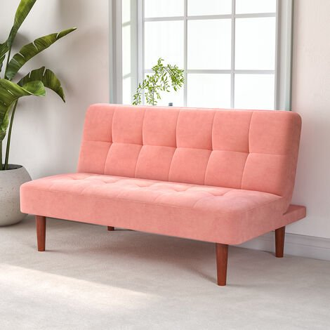 """main image of """"Fabric Upholstered 2 Seater Sofa Bed"""""""