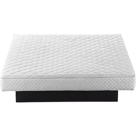 Fabric Waterbed King Mattress 5ft3 Cotton Polyester Cover White Zipper