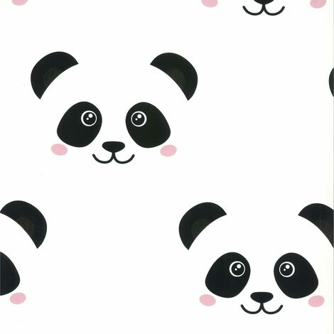 Fabulous World Wallpaper Panda White 67100
