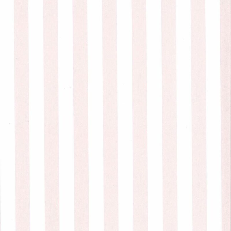 Image of Wallpaper Stripes White and Pink 67103-4 - Pink - Fabulous World