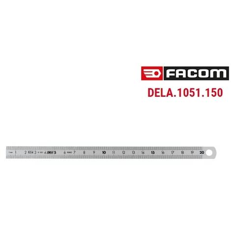 R/églet inox FACOM 300mm