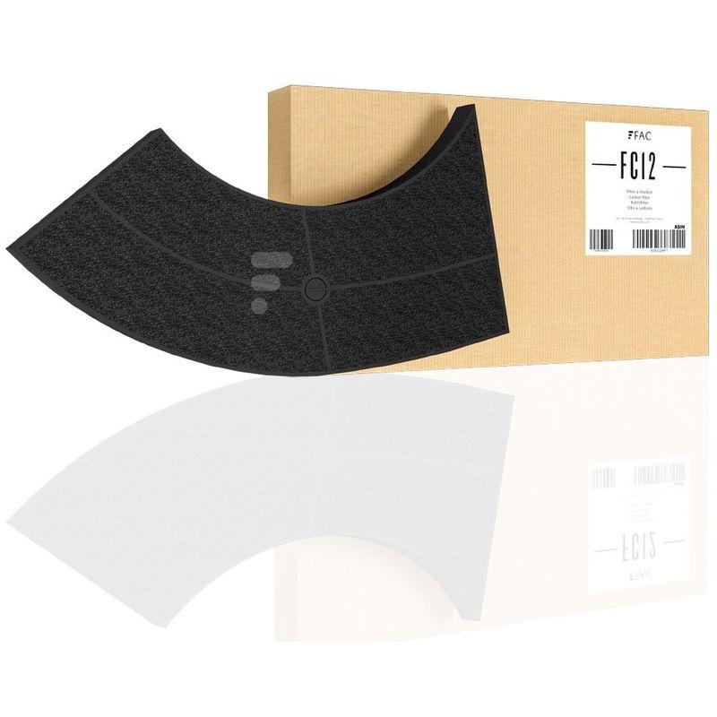 Fac Filter - Cassette filtre charbon type 10 (amc859) hotte whirlpool akr441ix