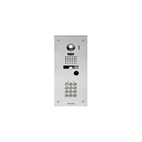 Façade KJKF d'adaptation inox encastrée avec clavier 100 codes AIPHONE - AIPHONE