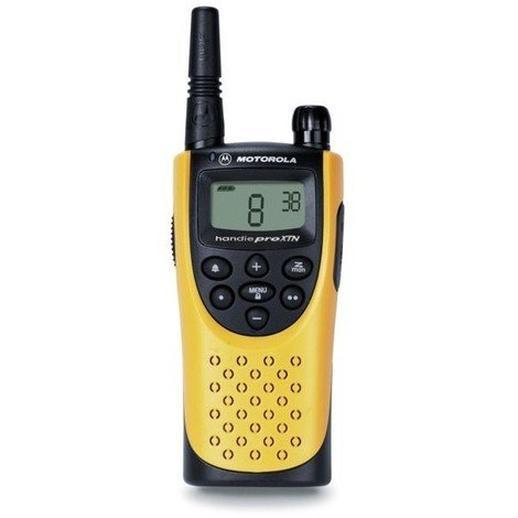 "main image of ""Facade p-talkie walkie handiepro jaune et grise"""