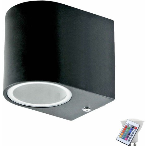 Façades extérieures projecteurs télécommande dimmable Spot d'éclairage dans un ensemble, y compris les lampes à LED RGB
