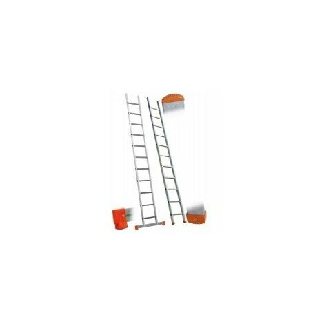 Facal - Echelle simple en aluminium 14 échelons haut. travail 5,35 m GENIA - GS450
