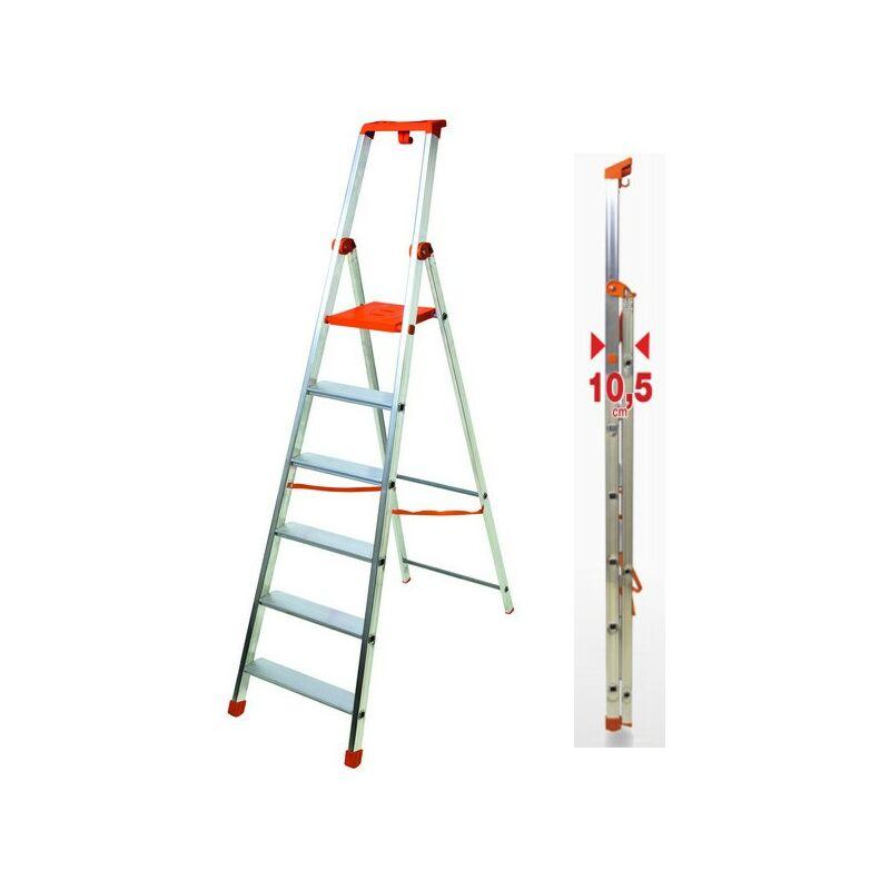 Scala domestiche alu step up 100 gradini 3 in alluminio//acciaio portata 100kg