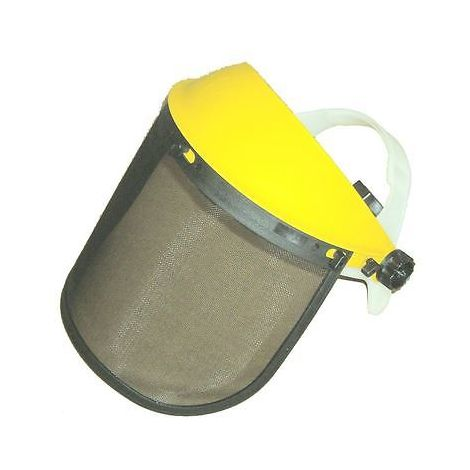Face Shield Mesh Visor And Browguard For Brushcutter Strimmer Trimmer Shield