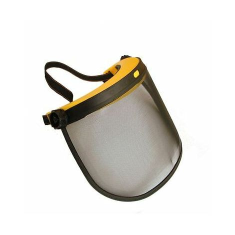 Face Shield With Mesh Visor For Strimmer, Trimmer And Brushcutter Users