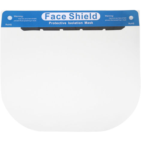 Face Shield with Sponge Face Protector Guard Safety Mask Full Face Protection Mask Shield Plastic