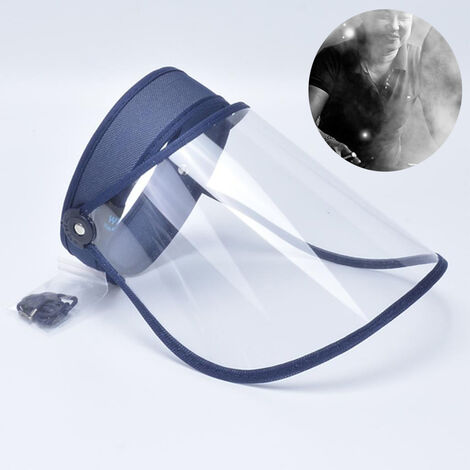 """main image of """"Face visor Full face protection Elastic PET for caregivers, hairdressers"""""""