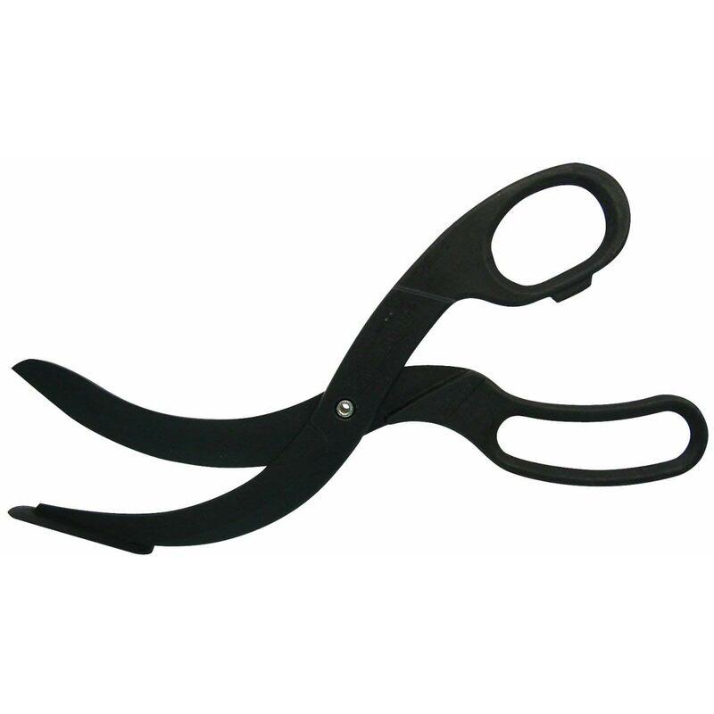 40198 Coupe-pizza en plastique ciseaux pour plaques et poêles revêtues Noir Quantité : 1 pièce - Fackelmann