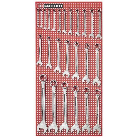 FACOM 440.P25M - Juego 25 llaves mixtas