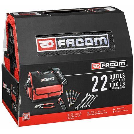 Facom Boite à outil PROBAG avec 22 outils - BS.T14CM1PB