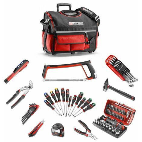 Facom Boîte à outils textile renforcée PROBAG BS.T20PB incl. 76 outils professionnels - BAG.GM