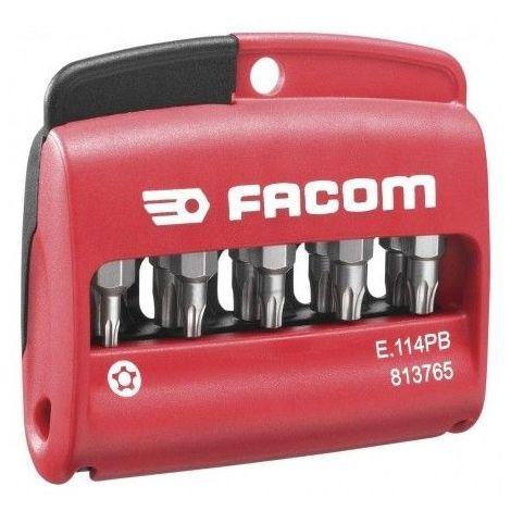 Facom Boîte de 10 embouts Résistorxplus E.114PB 40.19