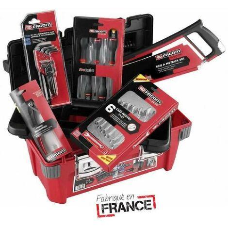 FACOM Caisse polypropylene + 22 outils