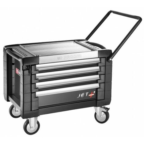 Facom Coffre roulant JET+ 4 tiroirs - 3 modules par tiroir - JET.CR4GM3