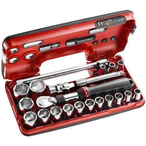 Facom Coffret clé + douilles métrique 1/2 (12.5 mm) 10 pièces SXL.DBOX1
