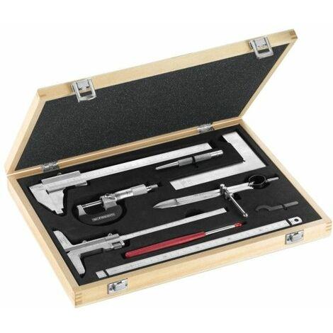Facom Coffret métrologie-contrôle 8 outils, livré en coffret - 809.J2