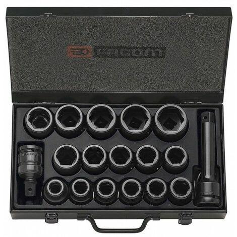 Facom Composition de douilles impact 3/4'' de 19 à 42 mm - NK.500E