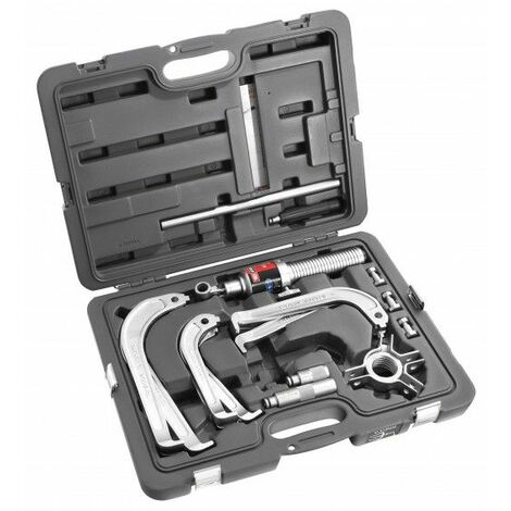 Facom Extracteur hydraulique 10 t pour prise extérieure - 3 jeux de griffes - U.312HJ3