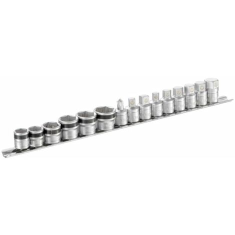 FACOM - Jeux de 9 embouts et 6 douilles de vidange magnétique sur rack de rangement - MB-J15