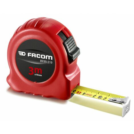 FACOM - Mètres à ruban boîtier ABS - 893B.319PB