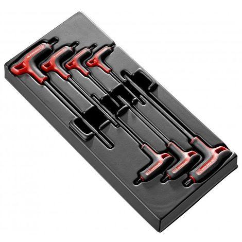 Facom Module de 7 clés mâles en T Torx MOD.89TXAPB 84.39